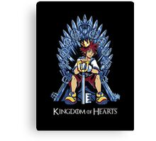 Kingdom of Hearts Canvas Print