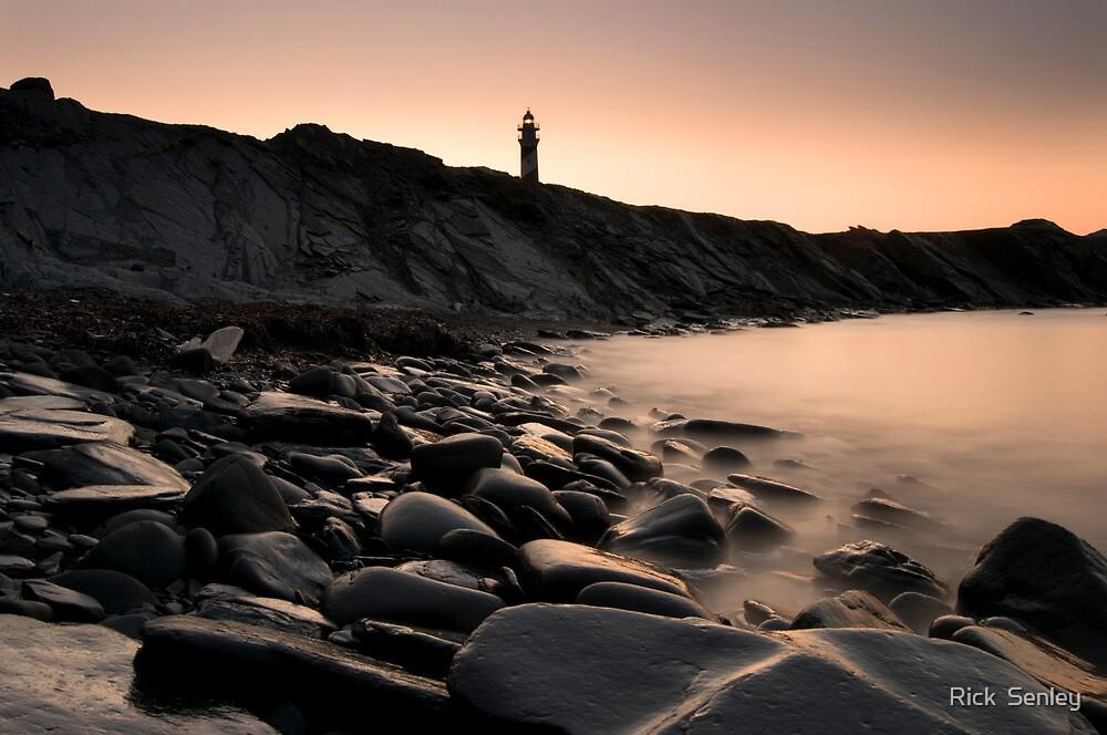 Dawn, Favaritx lighthouse, Menorca, Spain by Rick  Senley