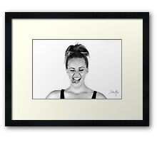 Looied 2.0 Framed Print