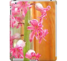 Dying hyacinth iPad Case/Skin