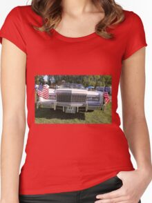 Beautiful American car  01 (c)(t) by Olao-Olavia / Okaio Créations with fz 1000  2014 Women's Fitted Scoop T-Shirt