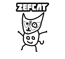 Zef Cat Photographic Print