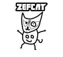 Zef Cat Photographic Print