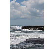 Rough Waters in Newport, RI Photographic Print