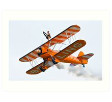 Breitling Wingwalkers Art Print