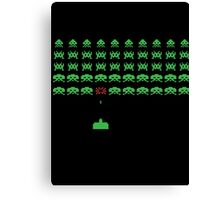Space Invaders II Canvas Print