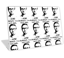 Hey Girl, I Wear Glasses Too. Laptop Skin