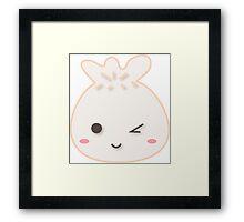 Dumpling-kun Framed Print