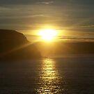 East Coast Sunset by Glenn Esau