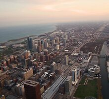 Southeast View of Chicago by StuttgenStudios