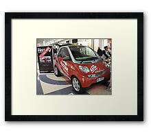 Smart Car Framed Print