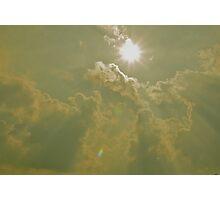 shining heaven's light Photographic Print