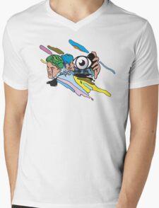 digital shades Mens V-Neck T-Shirt