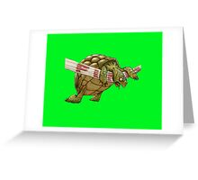 turtle's race Greeting Card