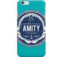 Amity Island Harbor Patrol iPhone Case/Skin