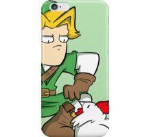 Link: Hero of Chickens iPhone Case/Skin