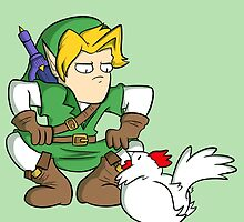 Link: Hero of Chickens by TheCatt