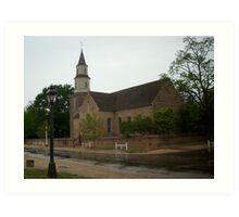 Bruton Parish Church Art Print