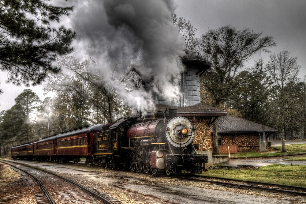 The Texas State Railroad by Terence Russell