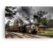 The Texas State Railroad Canvas Print