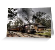 The Texas State Railroad Greeting Card