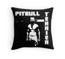 Zef Pittbull Throw Pillow