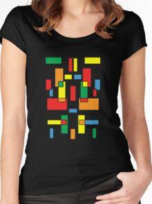 Blocks Women's Fitted Scoop T-Shirt