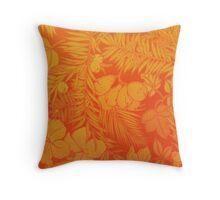 Luxuriant Orange Throw Pillow