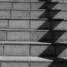 Abstract Stairs in B&W  by heatherfriedman