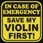 Save My Violin by evisionarts