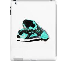 Tiffany Dunk Sneaker Illustration iPad Case/Skin