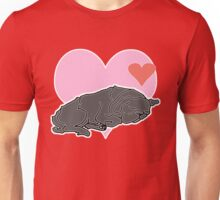 Sleeping Pug Unisex T-Shirt