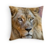 Majestic King Throw Pillow