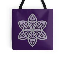 Celtic Pattern: Simple Star Tote Bag