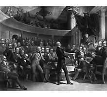 Henry Clay Speaking In The Senate  Photographic Print