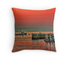 Twighlight in Monterey Throw Pillow