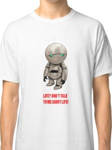 Marvin The Hitchhiker's Guide to the Galaxy Classic T-Shirt