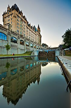 Fairmont Chateau Laurier by (Tallow) Dave  Van de Laar