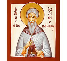 St John Climacus Photographic Print