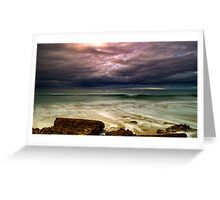 """Stormfront"" Greeting Card"