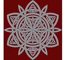 Celtic Pattern: Starlight Photographic Print