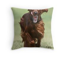 Irish Smile Throw Pillow