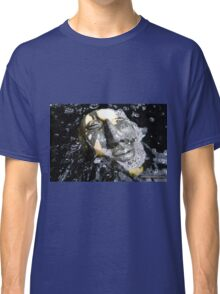 Zen Meditation in The Water Buddha Face Classic T-Shirt