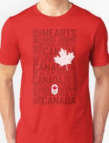 We All Play for Canada (Red) Unisex T-Shirt