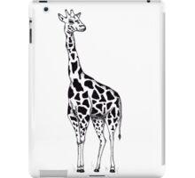 Line drawing Giraffe iPad Case/Skin
