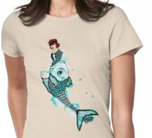 Float Upstream Womens Fitted T-Shirt