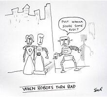 bad bots Photographic Print