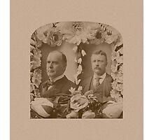 McKinley and Roosevelt Photographic Print