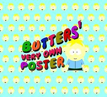 Butters very own poster by cthulupie