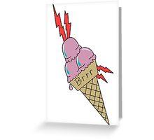 GUCCI CREAM Greeting Card